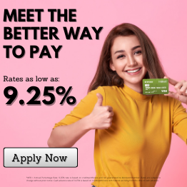 Meet the Better Way to Pay. Rates as low as: 9.25%. Apply Now.